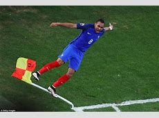 France 20 Albania Substitute Antoine Griezmann and