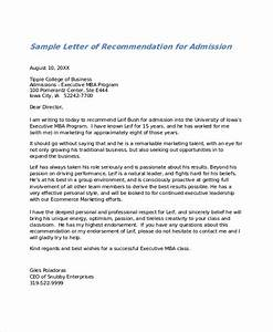 27 letter of recommendation in word samples sample With letter of recommendation template for college admission