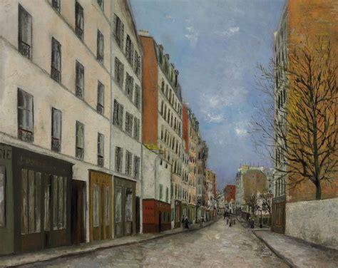 bureau de change rue montmartre maurice utrillo 1883 1955 la rue marcadet 224 montmartre christie s