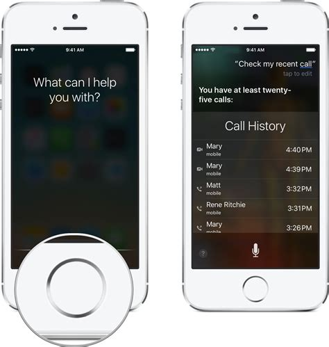 how to phone how to check your iphone call history using siri imore