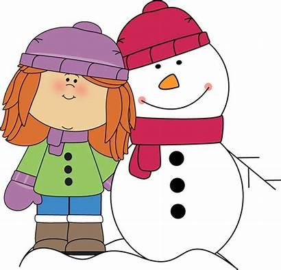 Winter Clipart Snowman Clip Clipground Arm Around