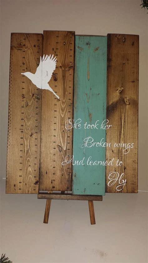 broken wings   learned  fly reclaimed pallet