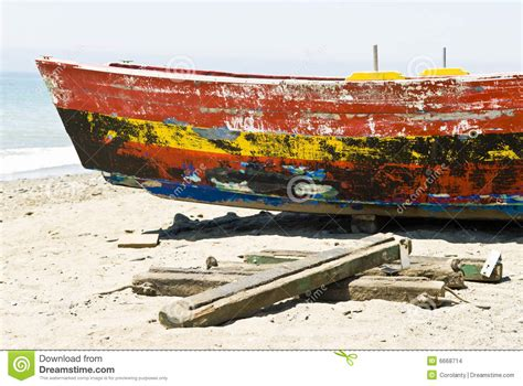 Fishing Boat Is Spanish by Old Spanish Fishing Boat Stock Images Image 6668714