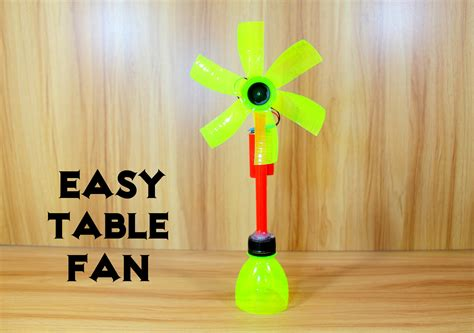 how to make fan made videos how to make an electric table fan using bottle very easy