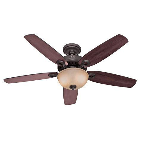 bronze ceiling fan light kit hunter builder deluxe 52 in indoor new bronze ceiling fan