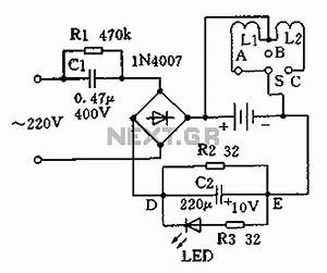 battery charger circuit page 3 power supply circuits With trickle charge