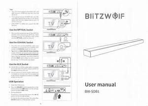 Review  Blitzwolf Speaker Sound Bar  Bw