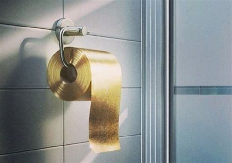 gold toilet paper will cost you one million dollar