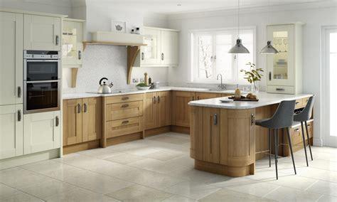 wood kitchen broadoak natural contemporary wood kitchen in oak