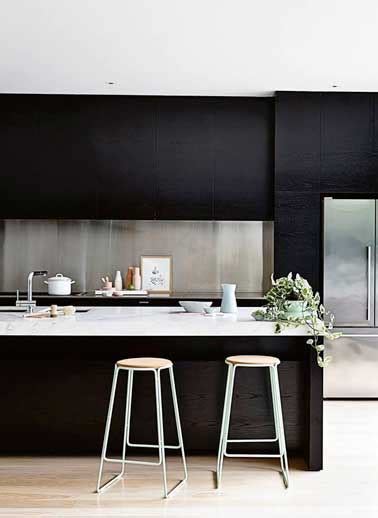 plan de travail en marbre pour cuisine la crédence inspire des idées déco pour la cuisine