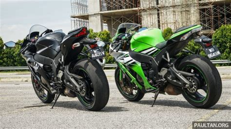 2016 And 2015 Kawasaki Zx-10r Comparo