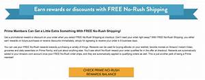 Amazon New Instant No-Rush Shipping Discounts!