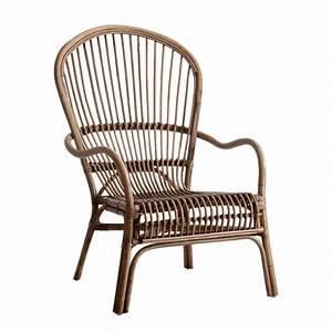 Fauteuil Rotin Design : fauteuil rotin retro ~ Nature-et-papiers.com Idées de Décoration
