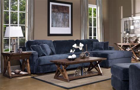 Living Room Ideas Blue Sofa : Chaise Navy Blue Sofa Living Rooms
