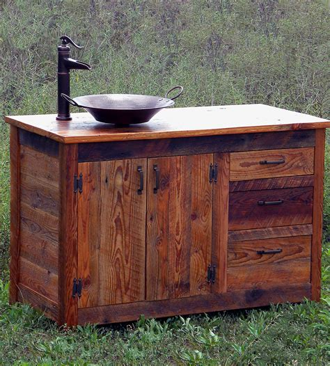 reclaimed wood bathroom vanity reclaimed wood bathroom vanity home furniture the rusted nail scoutmob product detail