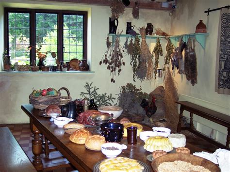 17th century cuisine kitchen cromwell 39 s house ely nen gallery