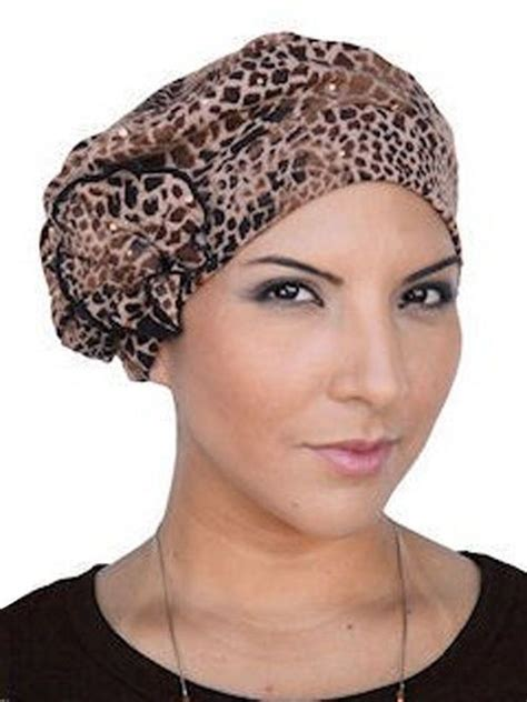 hats  bald women images  pinterest turbans