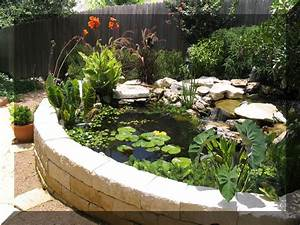 Images For Above Ground Ponds Ideas Above Ground Fish ...