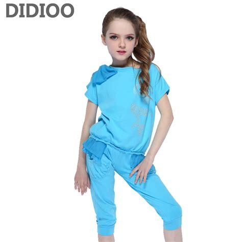 Kids Clothing Sets For Girls Sports Suits Chiffon T Shirts u0026 Shorts 2017 Summer Children Outfits ...