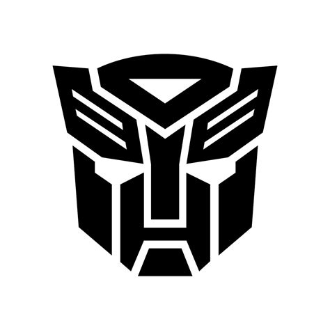Transformers Logo graphics design SVG DXF EPS by