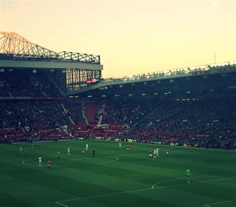 Where Were The Fans At Manchester United V Crystal Palace