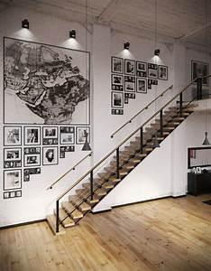 Deco Murale Industrielle : la d co loft industriel tendance et esth tisme ~ Teatrodelosmanantiales.com Idées de Décoration
