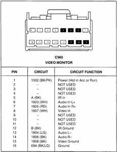 Kenwood 16 Pin Wiring Harness Diagram