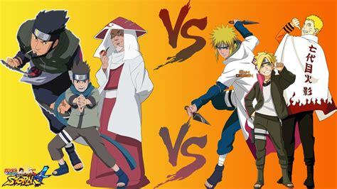 Naruto Storm 4 Dublado Pt-br Hiruzen, Asuma E Konohamaru