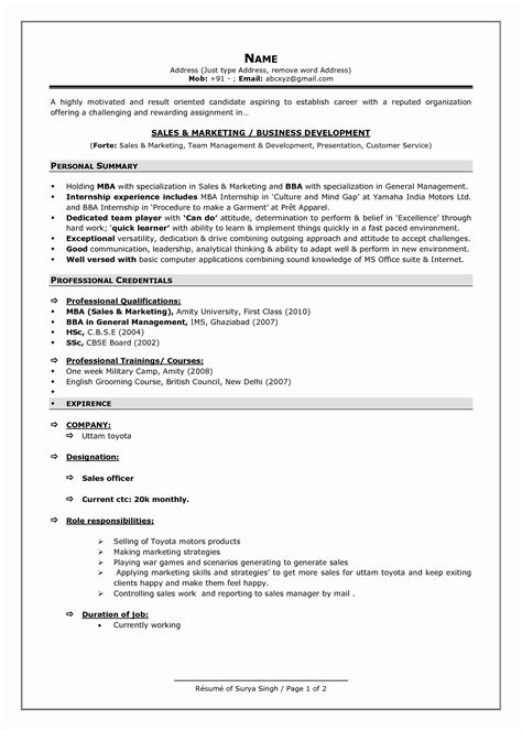 13 luxury sle resume summary statement resume sle