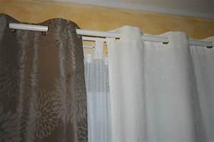 Poser Des Rideaux : poser des rideaux comment poser des rideaux c t maison comment poser une tringle rideaux ~ Nature-et-papiers.com Idées de Décoration