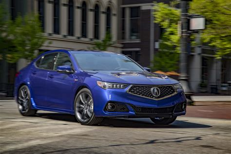 2018 acura tlx sh awd a spec first review automobile magazine