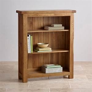 Original, Rustic, Small, Bookcase, In, Solid, Oak