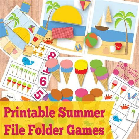 free printable summer file folder kid 840   f789b63cce83f904096d401bd5e00ee3