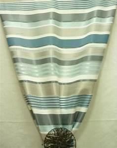 Vorhang Grau Weiß Gestreift : deko stoff gardine vorhang querstreifen wei grau petrol teiltransparent mete ~ Whattoseeinmadrid.com Haus und Dekorationen