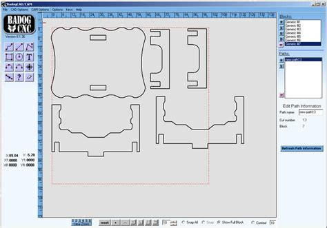 Free Doll House Dxf Plans For A Table  Wood Jigsaw
