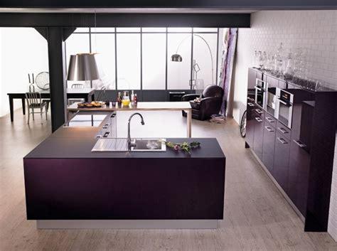 cuisine violine cuisine couleur aubergine inspirations violettes en 71 idées