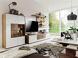 Wohnwand Weiß Holz : wohnwand aus massivholz innatura massivholzm bel ~ A.2002-acura-tl-radio.info Haus und Dekorationen