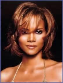 Layered Hairstyles for Medium Length Hair for Black Women