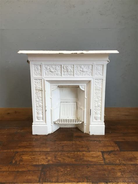 painting cast iron fireplace white white cast iron t jeckyll fireplace authentic reclamation