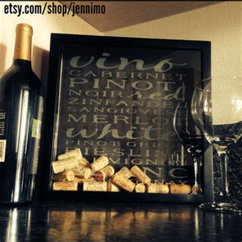 Wines Cork Holder Wall Frame Decoration by Jennimo On Etsy On Wanelo