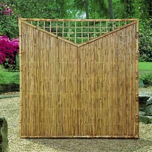 Sichtschutzwand aus bambus for Garten planen mit natur sichtschutz balkon