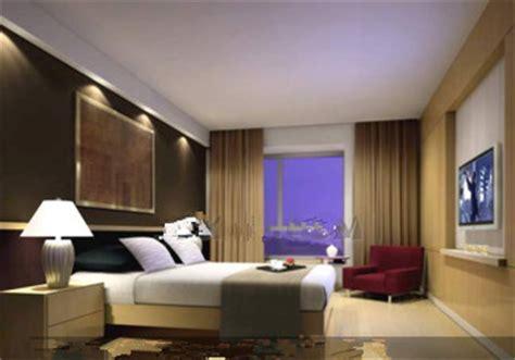 type de chambre d hotel confortable chambre d 39 hôtel de type commercial 3d model