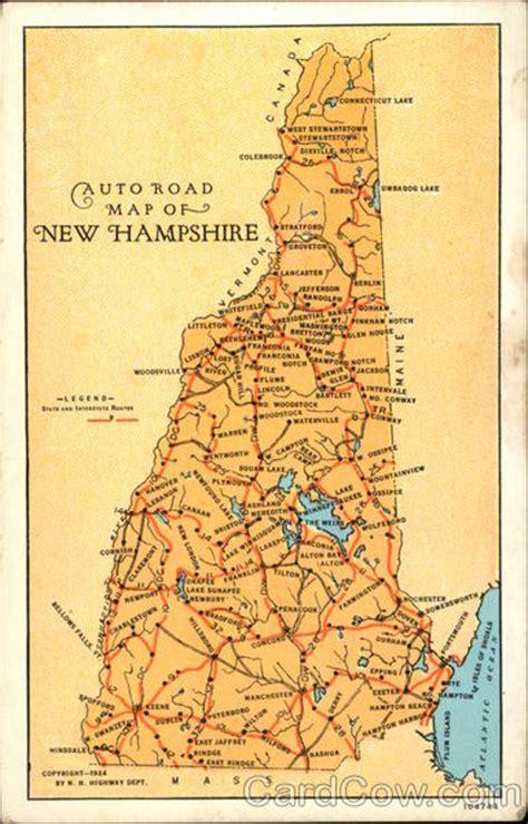 auto road map   hampshire maps