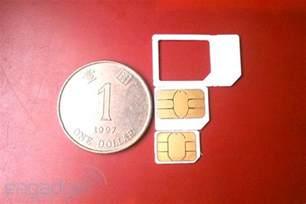 Nano Sim vs Micro Sim Card