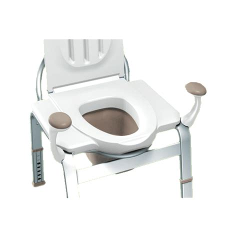 moen premium bedside commode by moen inc health products