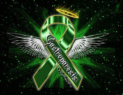 gastroparesis ribbon angel awareness ribbon angels chronic kidney disease kidney disease