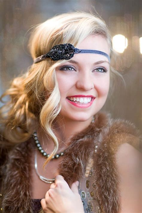 20s Hairstyle For Hair by New Years 1920s Flapper Headpiece Great Gatsby