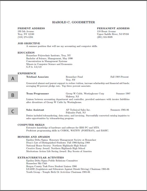 What To Add In A Resume by Graphics Add A Logo On A Resume Template Tex Stack Exchange