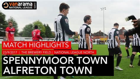 HIGHLIGHTS | Spennymoor Town 2-1 Alfreton Town | 2017/18 ...