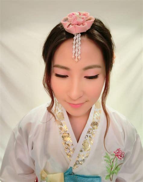 modern korean hanbok makeup  hair  stephy ng makeup  hair bridestorycom